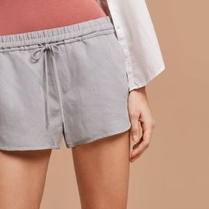 Community Habitus Linen Shorts Grey
